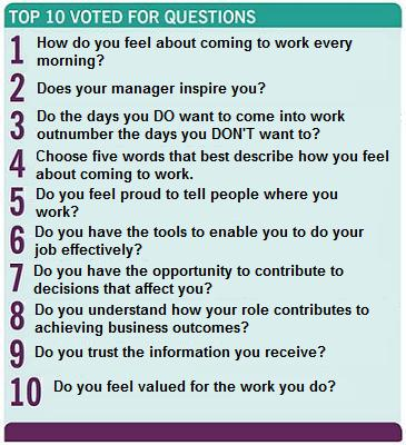 Superb Employee Engagement Survey Questions